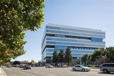 samsung headquarters samsung electronics strengthens its presence in silicon valley with opening of new headquarters