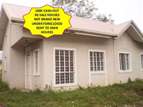 in house financing foreclosed house and lot in cavite with big big discount thru bank