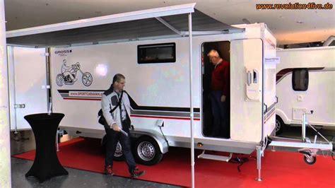 Motorrad Anh Nger Als Sportanh Nger by Sportcaravan Ein Wohnwagen Und Sportger 228 Teanh 228 Nger In