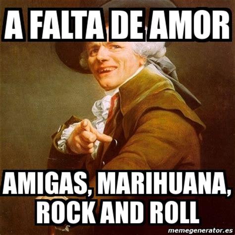The Rock Meme Generator - meme joseph ducreux a falta de amor amigas marihuana