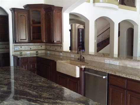 kent building supplies kitchen cabinets cherry ranch traditional kitchen houston by anna