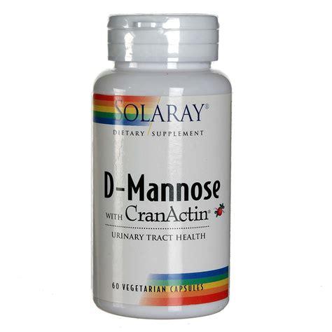 Kidney Infection Solaray D Mannose W Cranactin 60 Vcapsules Evitamins Com