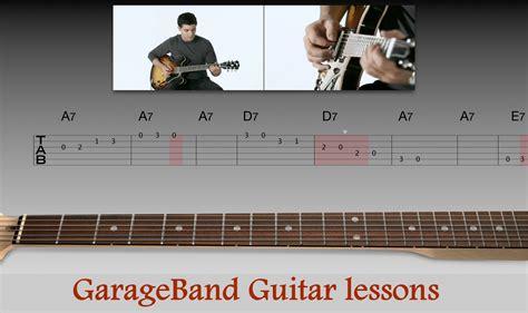 guitar tutorial garageband garageband guitar lessons for pc play like a pro