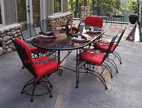 fantastic furniture outdoor settings 40 wrought iron patio furniture sets for a stylish outdoor