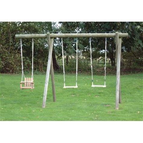 langley swing langley double extended swing frame garden swings buy