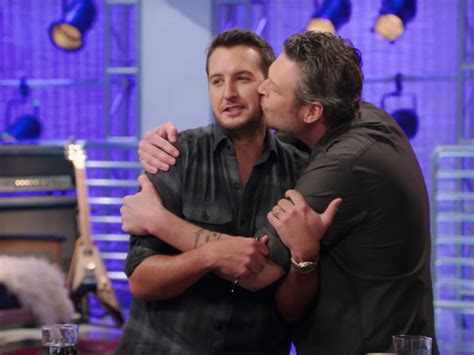 shelton is the best coach on the voice coach shelton and mentor luke bryan spread the