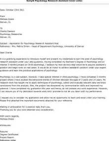 Cover Letter For Research Associate by Research Assistant Cover Letter Jvwithmenow