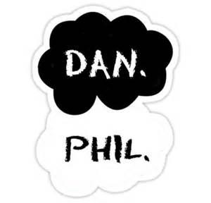 Dan amp phil tfios quot stickers by susanna olmi redbubble