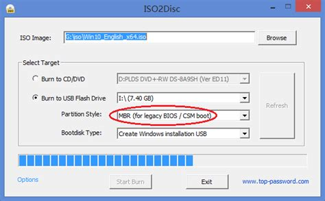 install windows 10 legacy bios create uefi or legacy bootable usb drive for windows 10