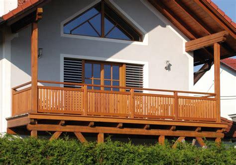 terrassengeländer holz kaufen handlauf fr balkon aus holz alle ideen 252 ber home design