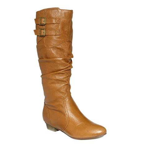 steve madden boots steve madden brandyy boots in brown cognac lyst