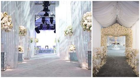 pipe and drape wedding decoration grand entryways event decor pipe and drape entrances