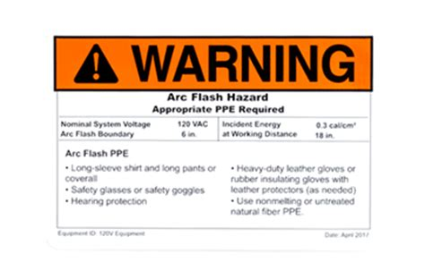 Arc Flash Report Template Nfpa 70e 2018 Changes Arc Flash Requirements Brady
