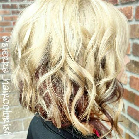 blonde hair dark underneath pictures hair color ideas underneath chocolate brown hair with
