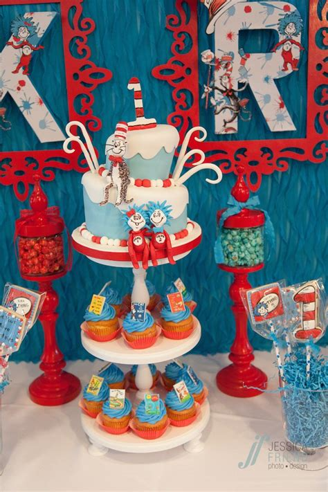 Thing 1 Thing 2 Decorations by Kara S Ideas Thing 1 Thing 2 Themed Birthday