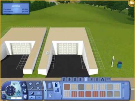 Blueprints For My House sims3 underground garage tutorial youtube