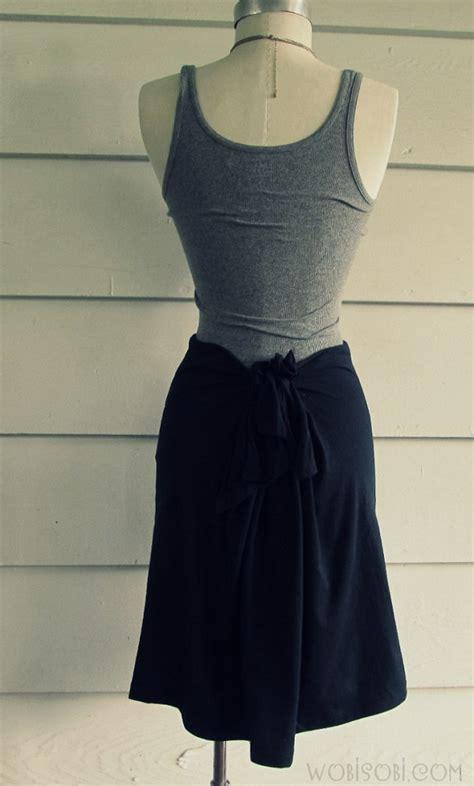 diy clothing projects no sew wobisobi no sew t shirt skirt diy