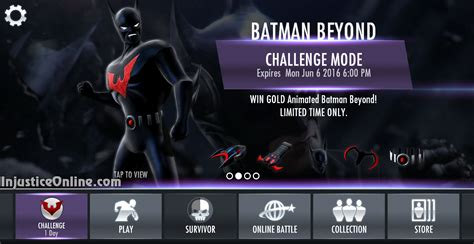 injustice gods among us mobile injustice gods among us mobile animated batman beyond