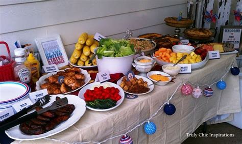backyard bbq food a 4th of july party melissa creates
