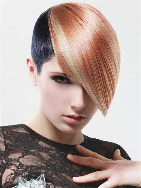 edgy haircuts and color image gallery edgy colors