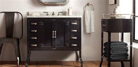 Bathroom Furniture Restoration Hardware Pharmacy Bath Collection Black Rh