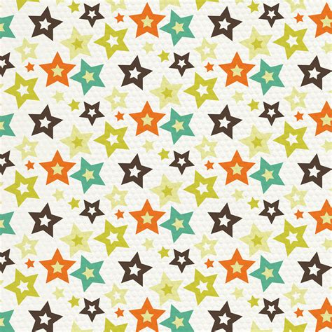design pattern paper 6 best images of free printable scrapbook paper star