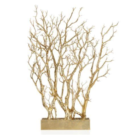 gold branch tree in pot from z gallerie my to do list in