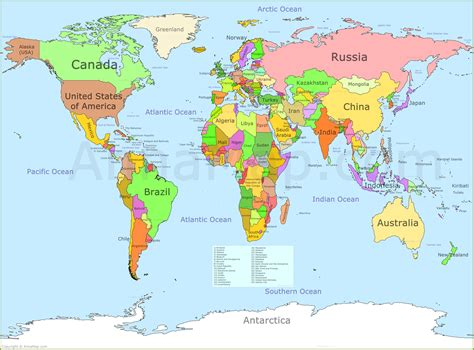 world map world map annamap