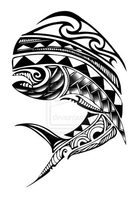tribal fishing tattoos 10 best images about salt water fish on fly