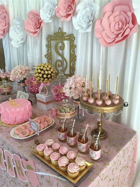 Gold Baby Shower Decorations by Pink And Gold Baby Shower Baby Shower Ideas