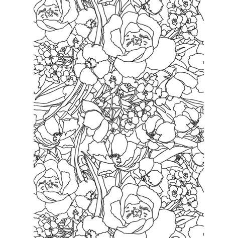 The Creative Colouring Book creative coloring book for grown ups glorious gardens creative colouring for grown ups