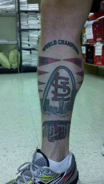st louis tattoo designs 15 best st louis cardinals tattoos images on