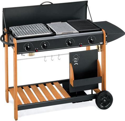 barbecue da giardino a gas bst barbecue a gas pietra lavica e piastra in ghisa da