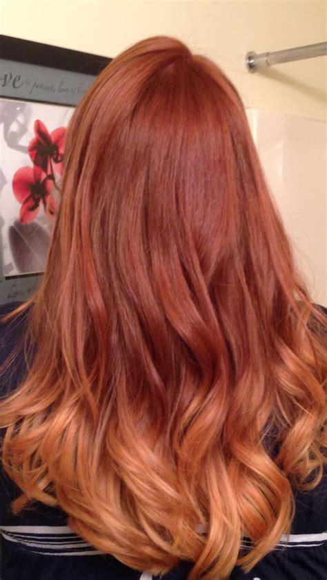 copper brown hair on pinterest color melting hair blonde hair exte best 25 ginger ombre ideas on pinterest ombre ginger