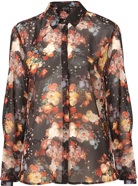 Ing Presents Imitate Neck Tie Look by Floral Blouse 8 Trendy Floral Print Pieces For Fall