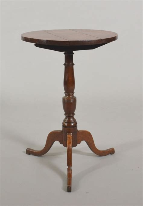 Small Pedestal Table by Tim Bowen Antiques Carmarthenshire Wales Small Oak Pedestal Table Sold