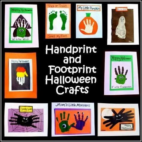 halloween printmaking project art for kids and robots halloween hand prints art projects for kids pinterest