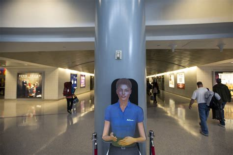 guide to airport service and amenities and terminal maps holograms guide travelers at mccarran airport in las vegas