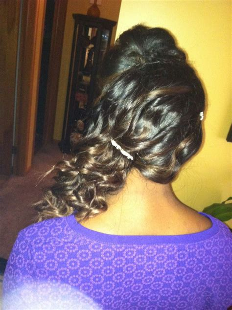 cute wand hairstyles prom hair style stylist curls wand sewin