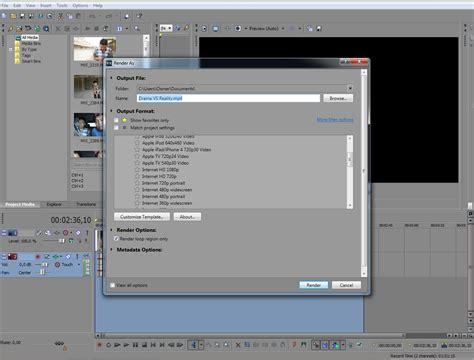 tutorial edit video dengan sony vegas pro creative is my life tutorial cara merender video dengan