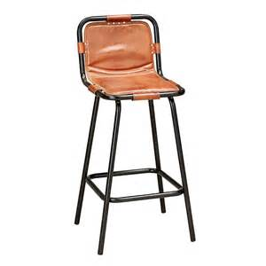 factory bar stool in leather andy thornton