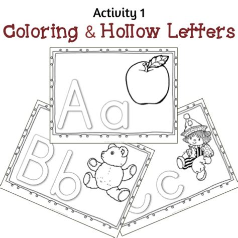 printable hollow alphabet letters hollow letters coloring pages bing images