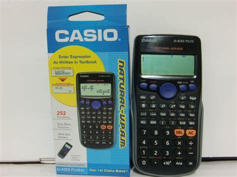 Casio Fx 82es Plus calculadora cient 237 fica casio fx 82es plus 268 00 en