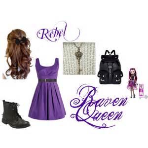 raven queen polyvore