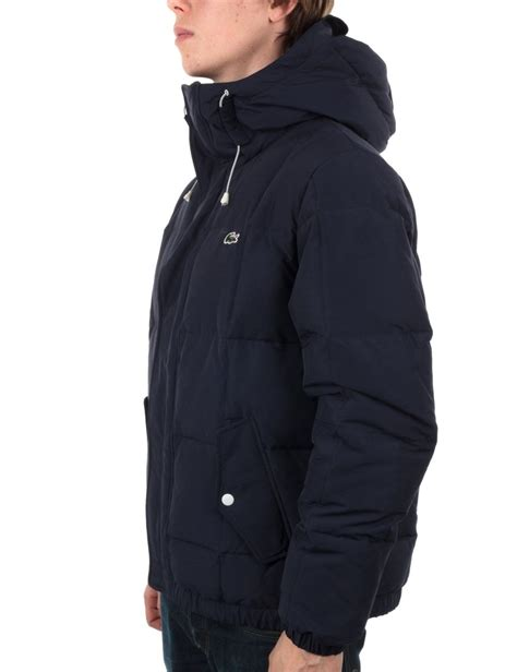 lacoste live quilted jacket navy lacoste live from