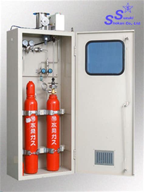 gas shut valve in cabinet development suzuki shokan co ltd