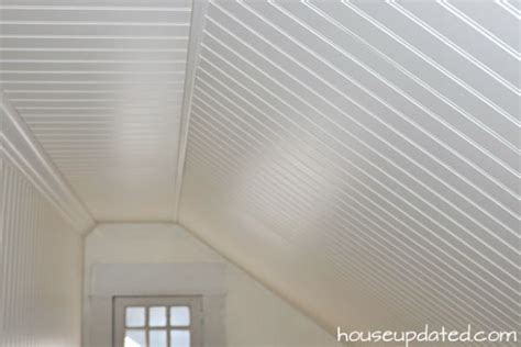 how to install a beadboard ceiling diy how to install beadboard on walls and ceilings