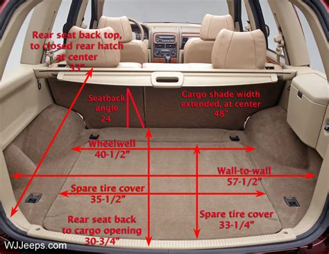 Jeep Liberty Cargo Space 2014 Jeep Grand Interior Cargo Space Apps