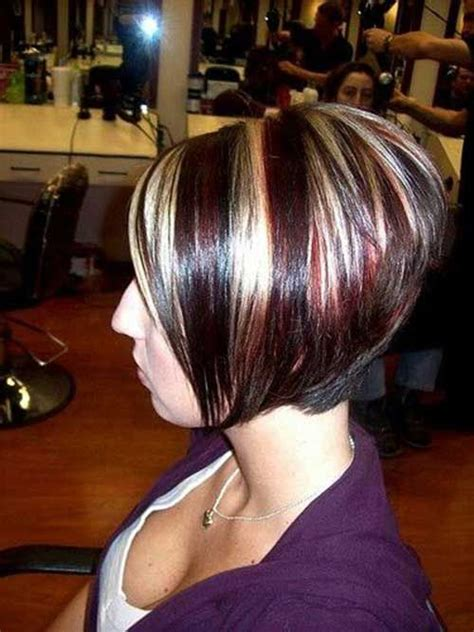 reverse bob with two tone color 133 best images about hair on pinterest bobs inverted