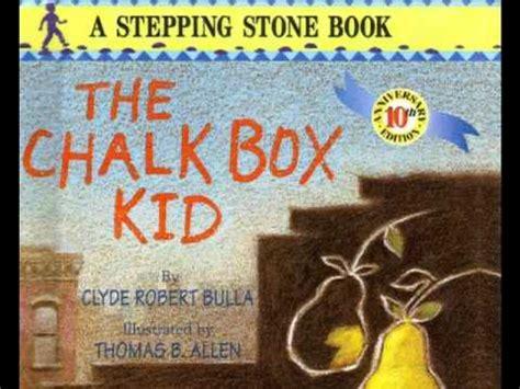 the chalk a novel books digital booktalk the chalk box kid